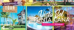 OFERTA! <br> Punta Cana Hotel Vista Sol <br> VUELO DIRECTO