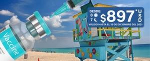 Viajes y Vacunación Miami y Orlando